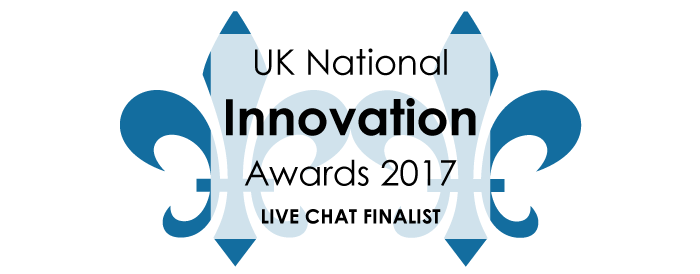National Innovation Awards Live Chat