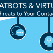 AI threat to contact centre infographic