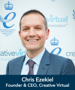 Chris Ezekiel, Creative Virtual
