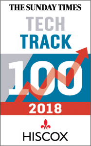 2018 Sunday Times Hiscox Tech Track 100