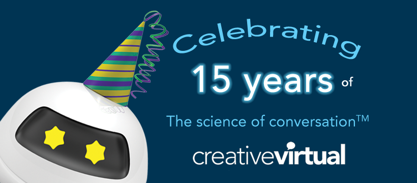 Creative Virtual's 15th Anniversary