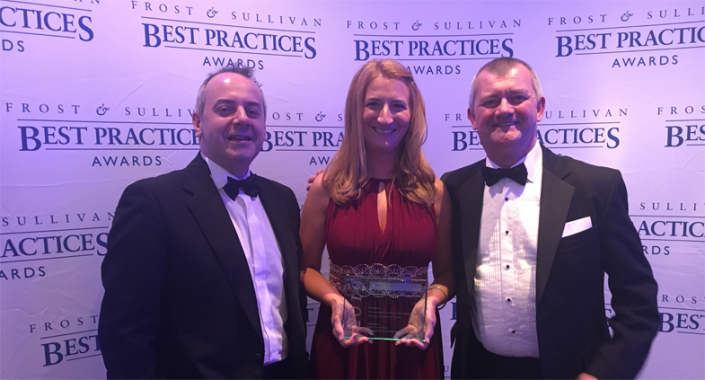 Frost & Sullivan Product Leadership Awards