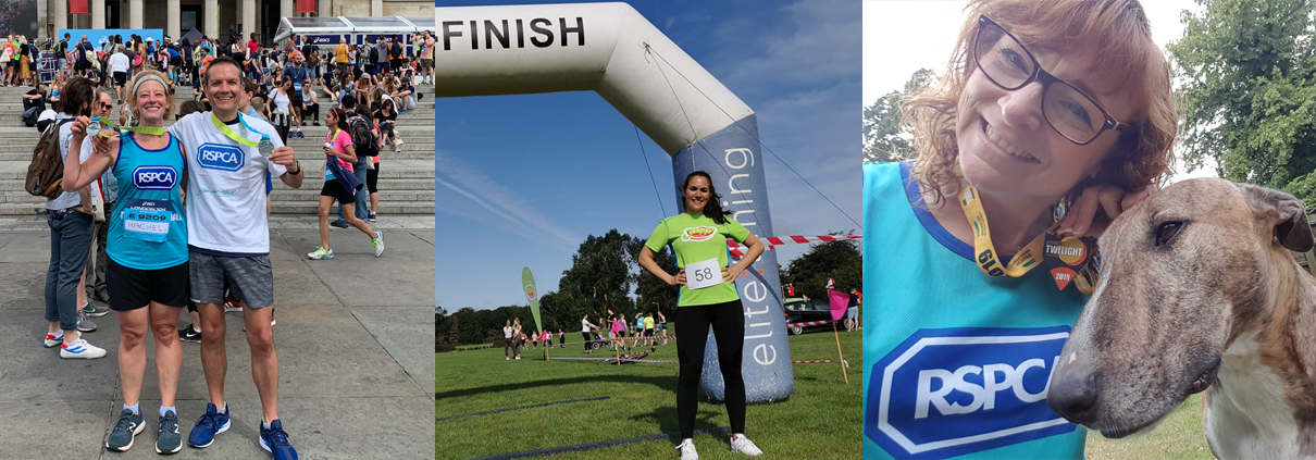 Running for the RSPCA