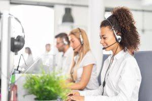 v-person for contact centre agent support