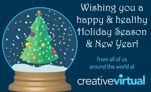 Happy Holidays from Creative Virtual