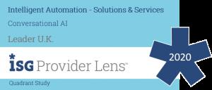 Conversational AI Leader ISG Provider Lens